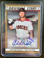 2020 Topps Series One Baseball Stars CHRISTIAN WALKER Autograph Gold SP /50