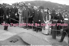 QQ 159 - Prince & Princess Watching Launch Of Newquay Lifeboat, Cornwall