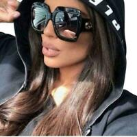 """Gucci"" GG0053S 001 54mm Oversize Square Black Women Sunglasses"