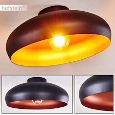 Plafonnier Retro Lustre Lampe suspension noire Lampe de séjour Luminaire Design