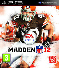 Madden NFL 12 American Football Ps3