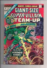 Giant-Size Super-Villain Team Up #2 (1975)  vf cond or better see scan (sh2)