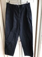 NWT Men's Polo Ralph Lauren Navy Blue Chino Pants Straight Fit Size 34 x 30