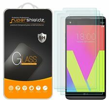 3X Supershieldz for LG V20 Tempered Glass Screen Protector Saver