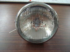 UNIVERSAL HARLEY DAVIDSON & METRIC SEALED BEAM 5 3/4 SIDE MOUNT HEADLIGHT