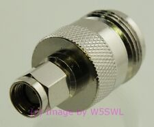 Reverse Polarity SMA Male to N Female Coaxial Adapter Connector - by W5SWL ®