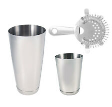3 pc Stainless Steel Professional Bartending Kit, Bartending Tools, Bar Set