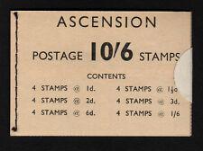 ASCENSION 1963 10/6d COMPLETE BOOKLET SB1.