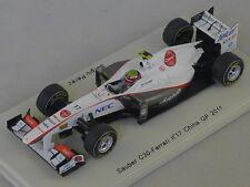 SPARK S3019 - Sauber c30 gp Chine 2011 N°17 Perez    1/43