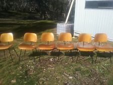 Authentic 1960's Eames Lounge Dining Chairs Mid Century Modern
