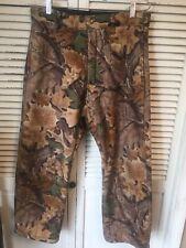 Cabela's Whitetail Clothing Fleece Camouflage Hunting Pants USA Men's 32x28