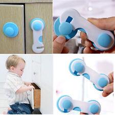Adhesive Baby Child Kids Safety Cabinet Door Fridge Drawer Cupboard Lock