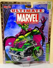 2002 GREEN GOBLIN Ultimate Marvel Motorcycle Collection TRIUMPH Maisto Series 1