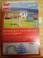 H0 1:87 Busch 1164 Zona de Juegos Kletter-Set. Accesorios Emb.orig