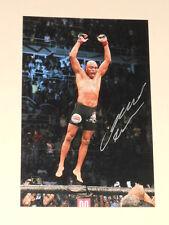 ANDERSON SILVA Signed 4x6 Photo UFC MMA AUTOGRAPH 1A