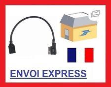 Cable auxiliaire aux adaptateur mp3 AMI USB pour mercedes CLASSE C envoi rapide