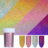 Nail Foil Gold Silver Purple Rose Gold Holographicsssss Nail Art Stickers