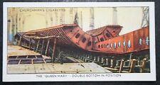 RMS QUEEN MARY  Double Skin Bottom    Original  Vintage Card  # VGC