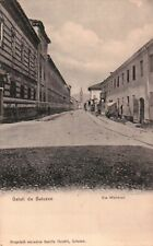 1920ca CARTOLINA DI SALUZZO , VIA MONVISO -