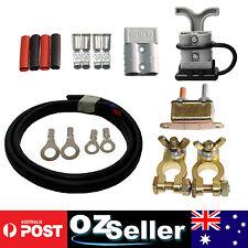 CAMPER TRAILER CHARGING KIT, 2x 50Amp Anderson Plug, Circuit Breaker & 6M Cable