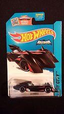 2015 HOT WHEELS Batman Batmobile (Black/Red) Collectible POP CULTURE / MOVIES