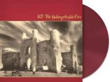 U2 THE UNFORGETTABLE FIRE LIMITED EDITION WINE VINYL LP UK EXCLUSIVE 1000 ONLY