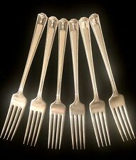"""Vintage Holmes& Edwards Silverplate CENTURY 1923 Set Of 6 LUNCHEON FORKS 7 1/8"""""""