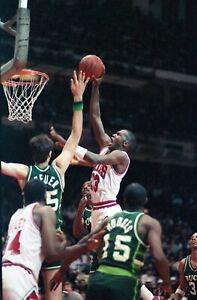Michael Jordan 1985/86 Chicago Bulls Photo Original 35mm Color Negative