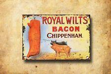 Royal Wilts Metal Sign, Vintage Farming Advertisement, Vintage Memorabilia, 66