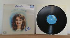 """ORIGINAL Autogramm von Nicole. pers. gesammelt auf VINYL 12"""" """"So viele Lieder.."""""""