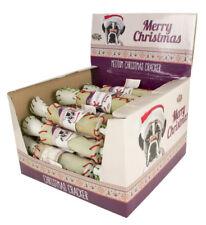 Rawhide Crackers Medium Pet Dog Puppy Chews Treats Christmas Xmas Festive Gift