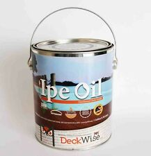 IPE OIL Hardwood Deck Finish, by Deckwise, UV Resistant, 1-Gallon Can