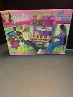 Barbie All Around Home Afternoon Snack Playset Flip Up Table