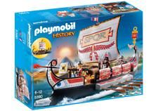 Playmobil  5390 GALERA ROMANA - ROMAN WARRIOR'S SHIP                     History