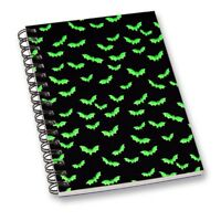 GirlsBat Animal Pattern Blank Diaries Travel Journals Notebook Diary Note Books
