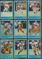 1987 JOGO CFL Complete Set of 110 Cards  Dunigan, Clements  Vintage CFL Football