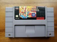 World Heroes Super Nintendo SNES Original Authentic Game Cleaned and Tested