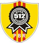 """US Navy PBR River Division 512 Decal 4"""" Wide x 4.40"""" High"""