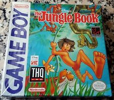 DISNEY THE JUNGLE BOOK BRAND NEW MEGA RARE NINTENDO GAMEBOY 1989 Made in Japan $