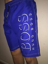 Hugo Boss Swim Shorts Size Medium Royal Blue. BNWT *black label* NEW
