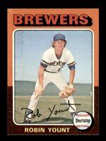 1975 Topps Set Break # 223 Robin Yount NM *OBGcards*