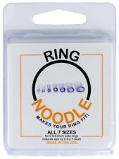 Ring Guard by RING NOODLE- 7 pack (1 of each size) Ring Size Reducer, Ring Sizer