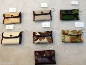 ITA Canvas Small Fold up ID POCKET WALLET +zip pocket / various cards /slips