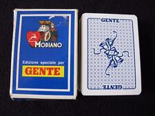 MODIANO PACK DECK of ITALIAN PLAYING CARDS - GENTE - WEDDING BELLS