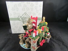 Charming Tails Fitz Floyd Mouse Anthropomorphic Christmas Time Is Family Time