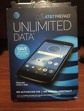 AT&T Prepaid - Motorola MOTO E5 Play with 16GB Memory Black New