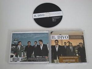 Il Divo / Siempre ( Syco Music + Sony-Bmg 88697015522) CD Álbum