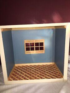 "Dollhouse Miniature ROOM 1:12 BOX Display  12 3/4"" X  7"" X  11 1/2 Nice"