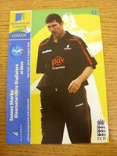 05/08/2002 programma Cricket: Sussex V Gloucestershire [a Hove]. grazie per ta