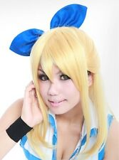 W-128 Fairy Tail Lucy 52 cm cosplay perruque perruque wig Hitzefest BLONDE Blonde